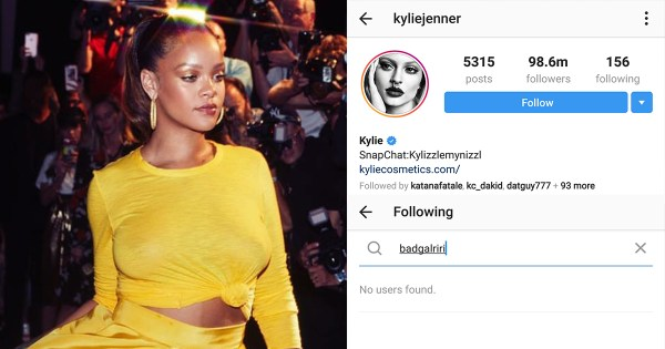 Kylie Jenner allegedly unfollowed Rihanna after Fenty because white women hate losing to Black women