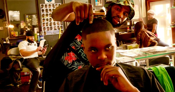 The Black barbershop is both toxic and intimate for cishet Black men