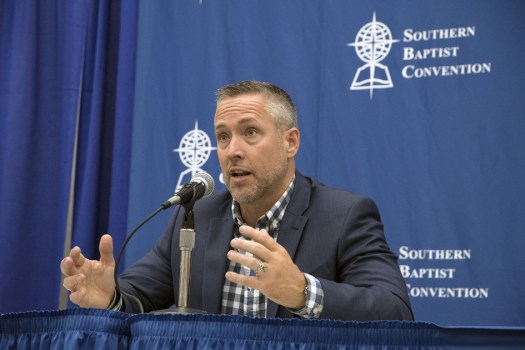 Southern Baptists signal move away from conservatism with election of youngest president in 37 years