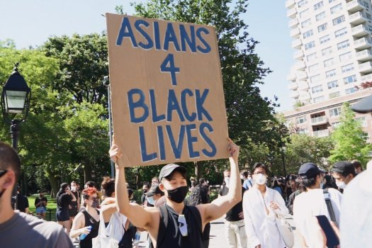 Asian American Youth support defunding police, investing in Black Futures