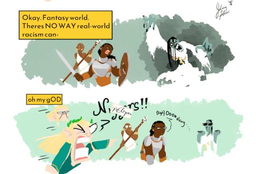 Comic:  More joy, less trauma please