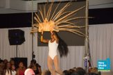 Performer with waist length locs!