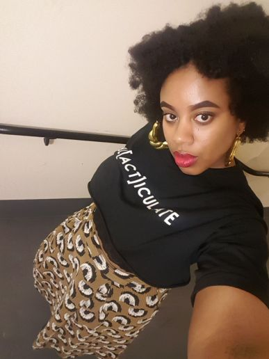 Zoe Jade Blacticulate Tshirt