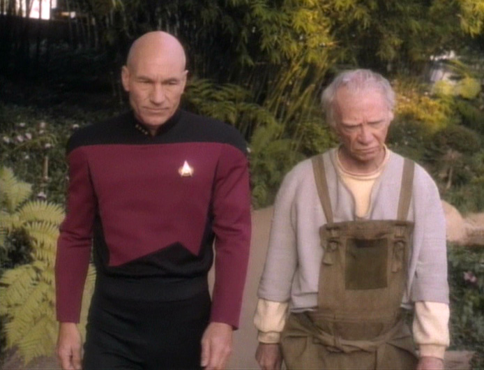 Captian Picard and Boothby