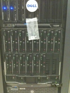 HP BladeSystem and Dell M1000e at The Venetian Casino Data Center