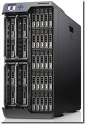 PowerEdge VRTX - Front View with 2.5 Drives