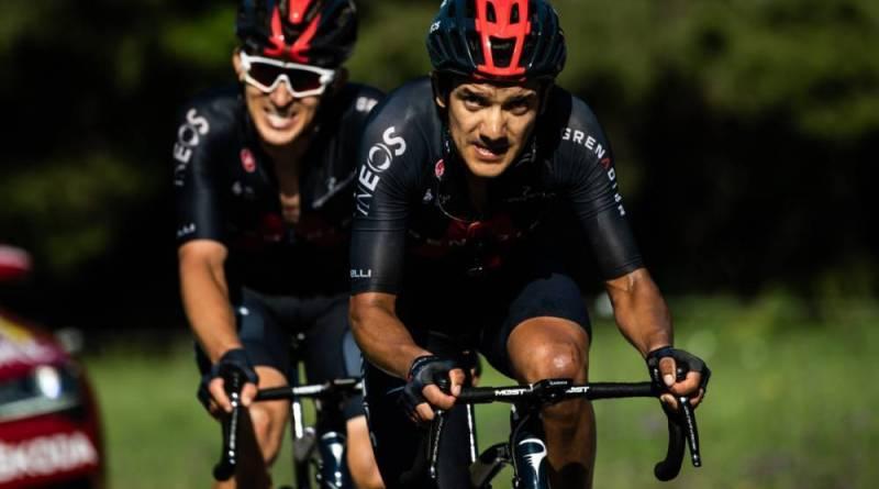 De Norske sykler for topplassering på morgendagens etappe