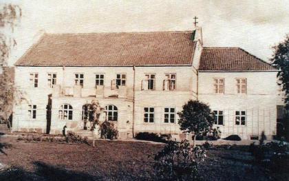 Wohnhaus der Familie Hugo Korell in Lank