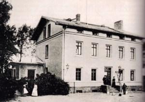 Einstiges Gutshaus von Wolittnick