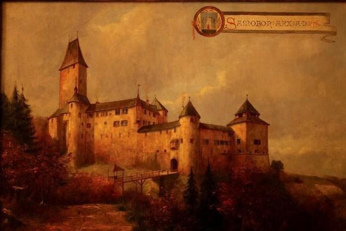 Samoborski stari grad nekad, bio je mjesto kao iz bajke, a danas stoje samo kamene razvaline