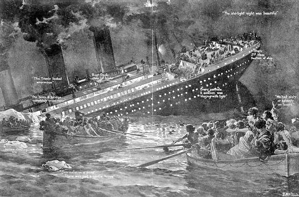 Svjedočanstvo Hrvata koji je preživio potonuće Titanica: pušili i pjevali Oj, Savo, Savice, tija vodo ladna ponesi me tamo i onamo…