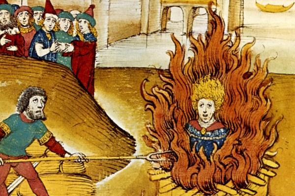 Prije smrti, osuđenici su morali patiti za primjer, no spaljivanje na lomači ipak je bilo rezervirano samo za posebnu kategoriju zločina