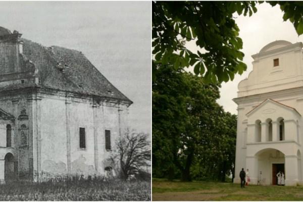 Kod gradnje, zvonik crkve u Topolju triput se urušio, neuspjeh graditelja narod je pripisao legendi, a majstori su na koncu od zvonika - odustali