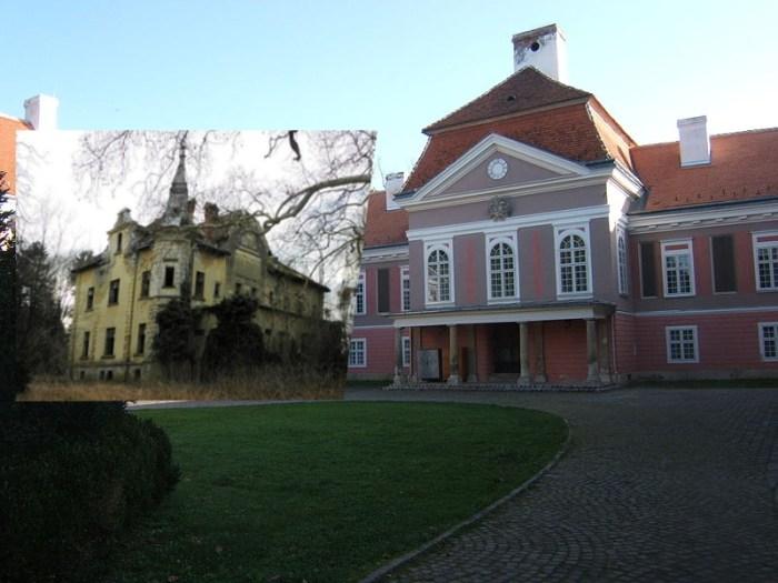 Priča o dva dvorca Inkey koje dijeli granica i sat vožnje; jedan stoji obnovljen i ponosan, drugi je zapušten i opet se prodaje