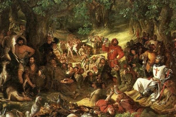 Doba haranja drumskih razbojnika pronalazimo samo u fusnotama koje govore o otmicama kraljica, ubojstvima i pljačkama