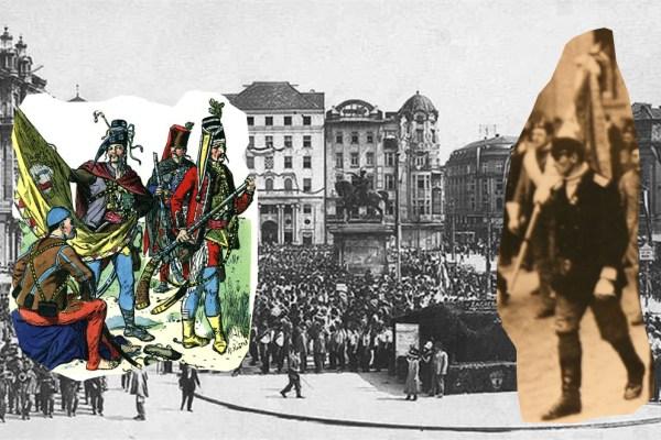 Nasljednici Trenkovih pandura posljednju bitku vodili su usred Zagreba, prosvjedujući za Republiku Hrvatsku, 177 godina nakon što ih je barun Trenk osnovao