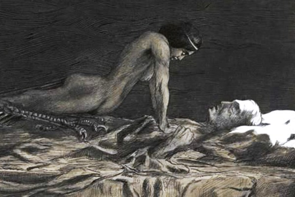 Zovu je Mora i demon je po kojem su nazvane noćne more, stiže noću, uzrokuje paralizu spavanja i srče životni dah