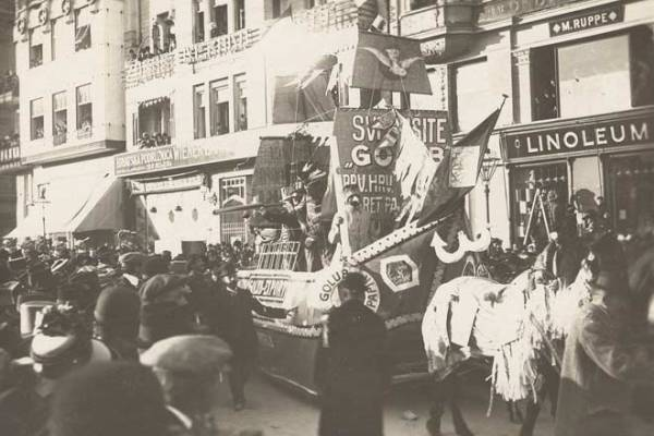 Nekoć ne tako davno, Zagreb je imao pravi fašnik: auto Budickog vukli su konji, Penkala je zaradio karikaturu, novinari patku a mlađarija bitku konfetama