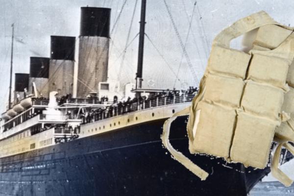 Spasilački prsluk s Titanica član hrabre posade broda - heroja donio je kući gdje godinama kasnije svjedoči o tajnoj vezi Rijeke i Titanica