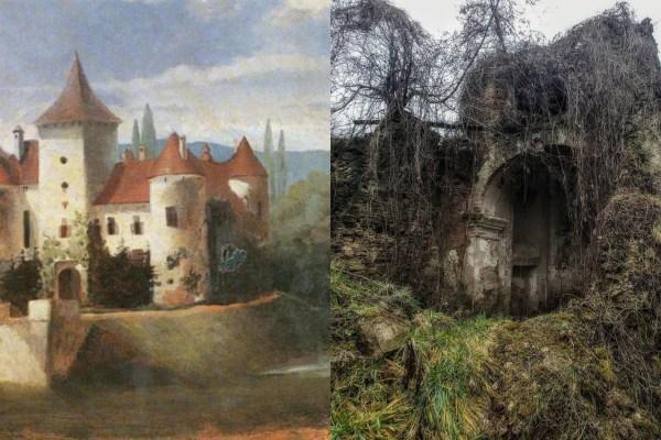 U zatrpanoj kripti Bisaga još leži nemirni grof Corberon, usred urušenog dvora u kojem se pisao i Ero s onoga svijeta