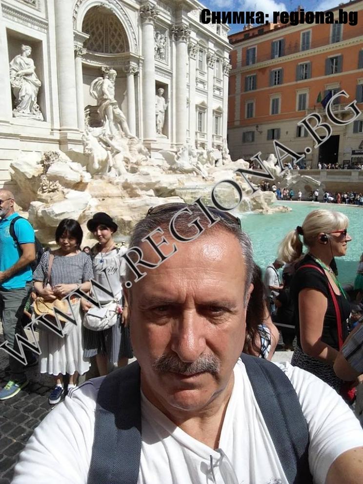 Владимир Димитров! До Рим да отидеш и да не те погали папата !