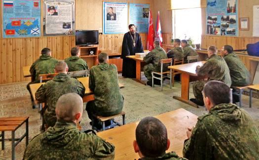 Посещение войсковой части № 55443-МК