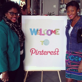 reception party at the Pinterest headquarters