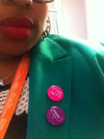 fashion and travel buttons