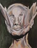 """Apparent Shaman, 2014, Oil on canvas, 23-3/4""""x31-1/4"""""""
