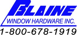 Blaine Window Hardware Inc. Logo