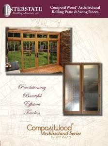 CompositWood Rolling Patio & Swing Doors Brochure