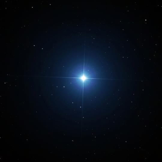Mein Fixstern Sirius