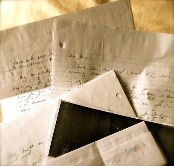 Send a Letter {Making the Mundane Marvelous}   Blair Blogs