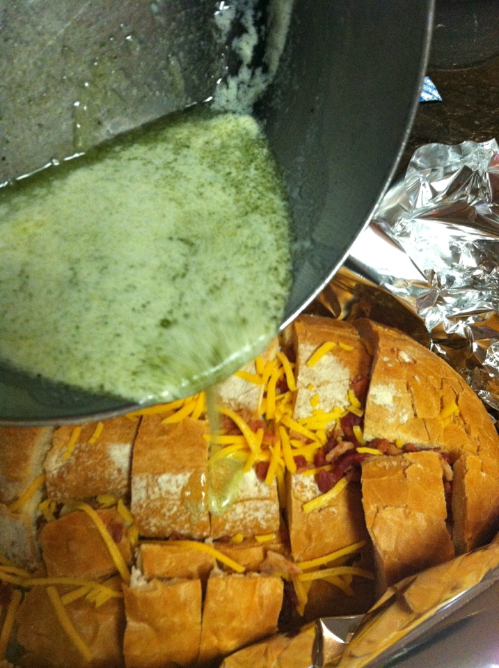 Bacon-Cheddar-Ranch Pull Apart Bread Recipe | Blair Blogs