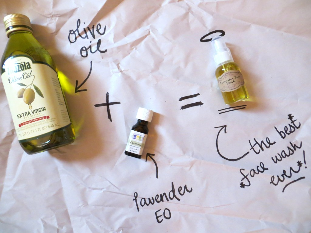 I Wash My Face With Oil. {Explaining The Oil Cleansing Method}