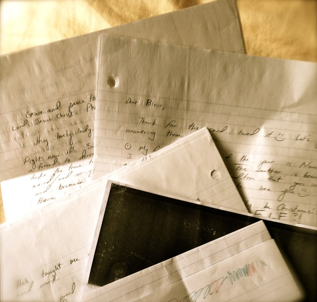 Emotional & Health Benefits of Letter Writing