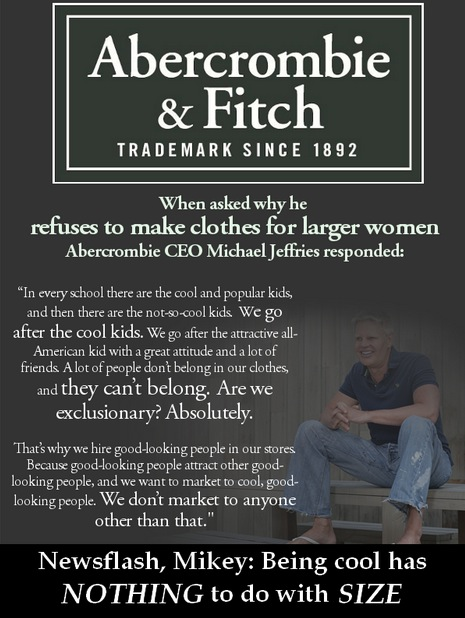 "Abercrombie & Fitch: The Problem With a Brand Where Some ""Can't Belong"""