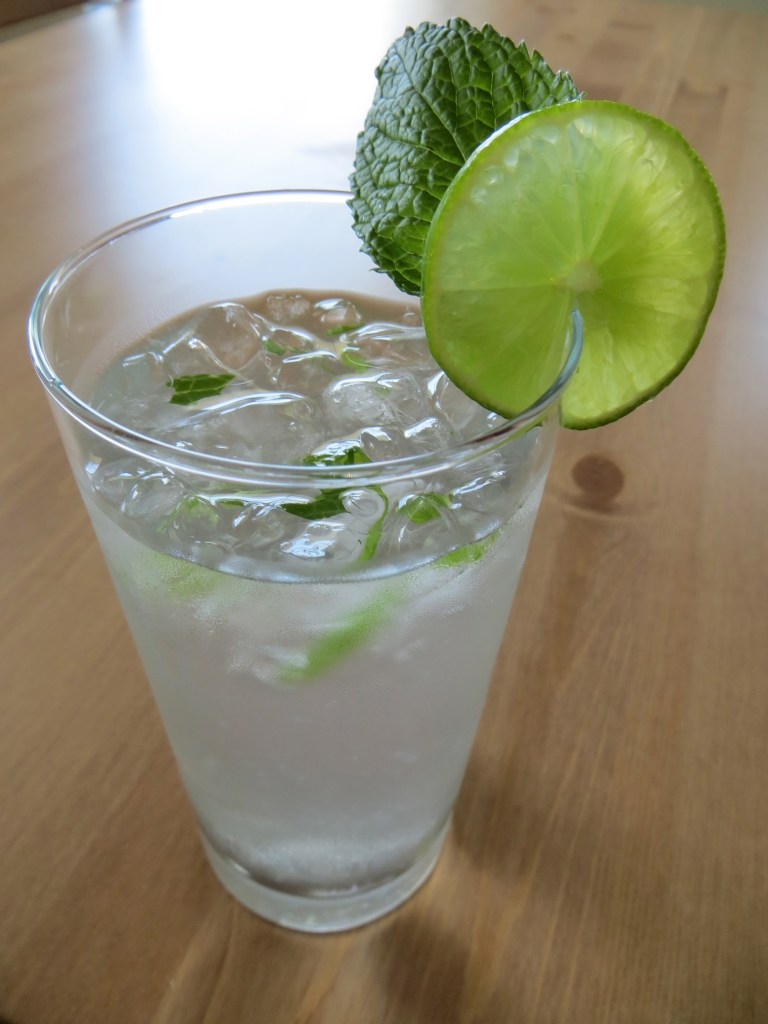 The Perfect Summer Beverage…Mint & Lime Infused Water