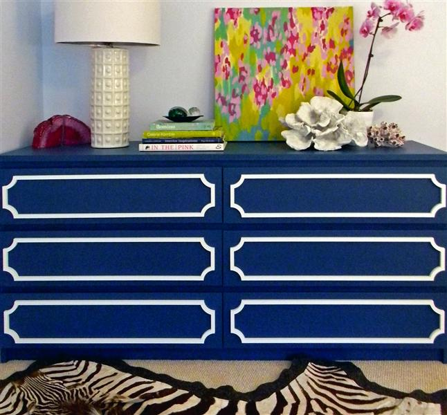 Malm Dresser Makeover with O'verlays | Blair Blogs