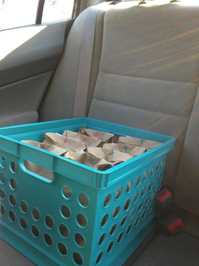 Blessing bags for the homeless | Blair Blogs