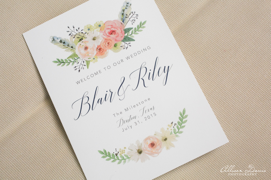 Wedding Paper Trail | Blairblogs.com