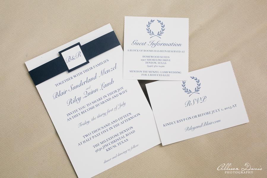 Wedding Paper Trail | Blairblogs.com