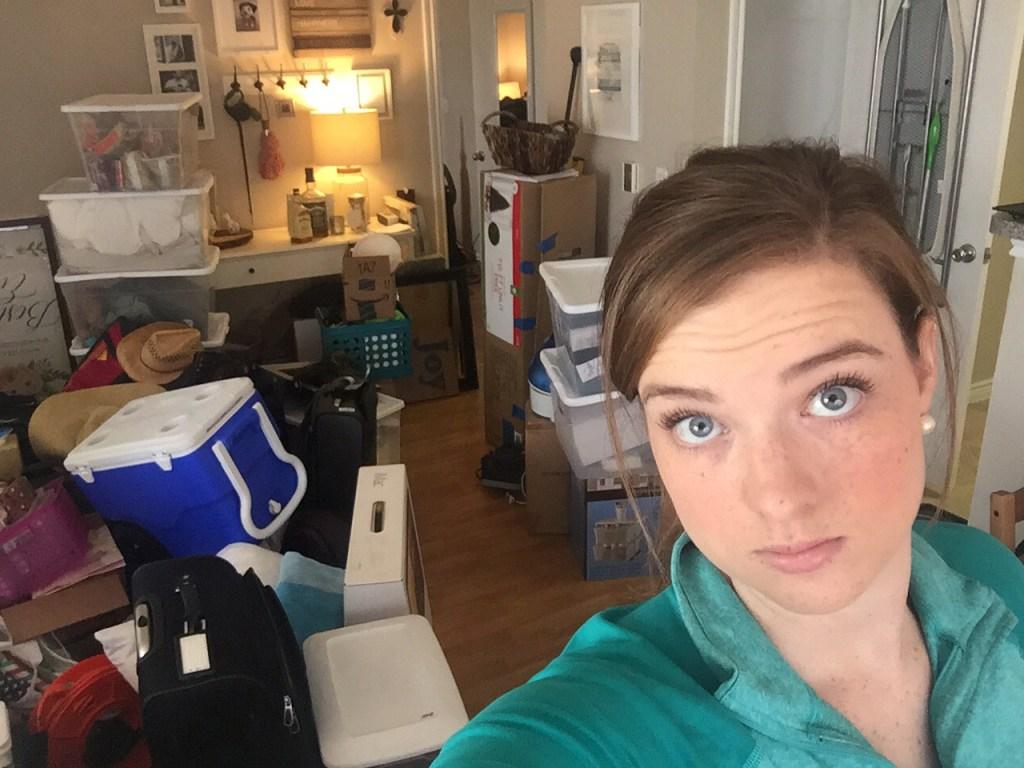 Organizing Our Hot Mess Closets | Blairblogs.com