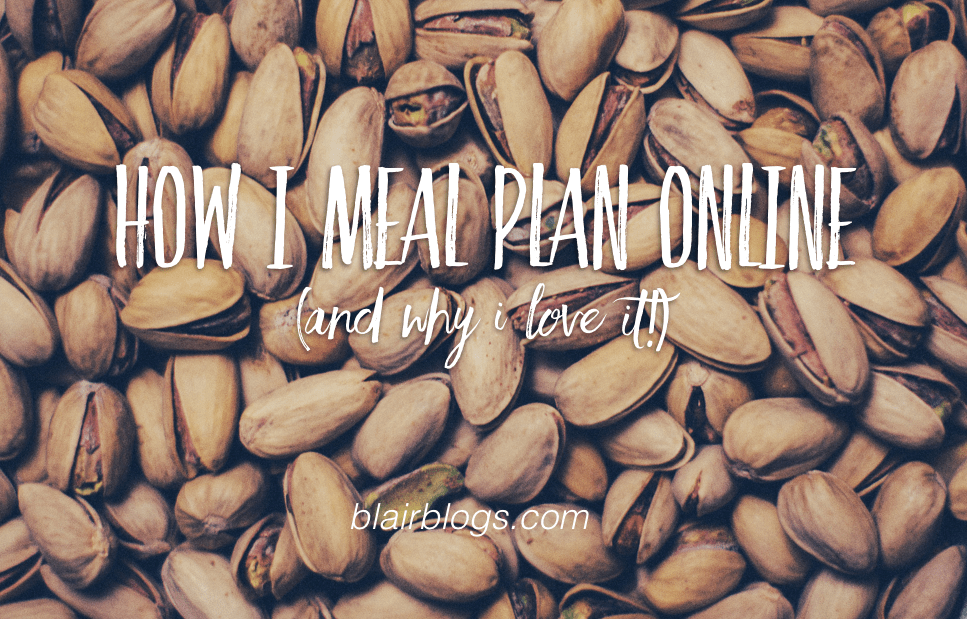 How I Meal Plan Online (And Why I Love It!) | Blairblogs.com