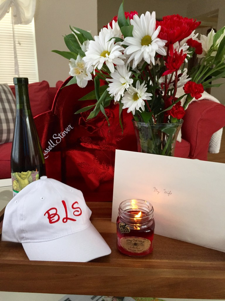 Our First Married Valentine's Day | Blairblogs.com