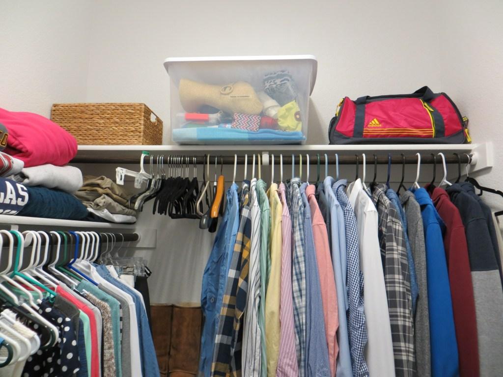 $50 Master Bedroom Closet Makeover | Blairblogs.com