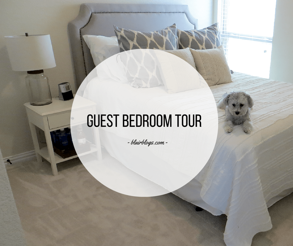 Guest Bedroom Tour | BlairBlogs.com