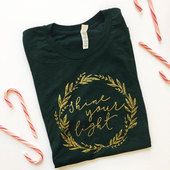 Blair Lamb Design on Etsy | Christmas Graphic Tees | BlairBlogs.com
