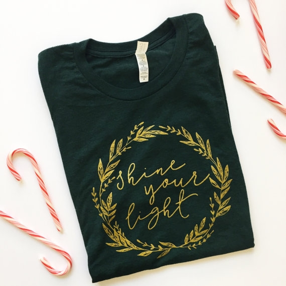 Blair Lamb Design on Etsy | Christmas Graphic Tees | BlairBlogs.com