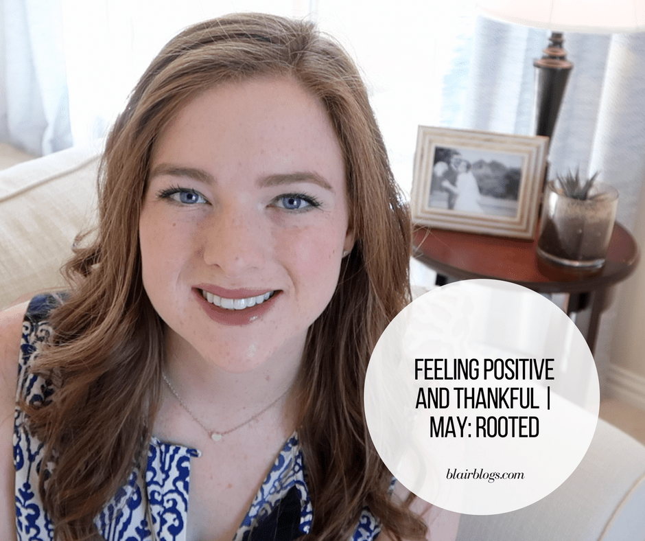 Feeling Positive and Thankful | BlairBlogs.com